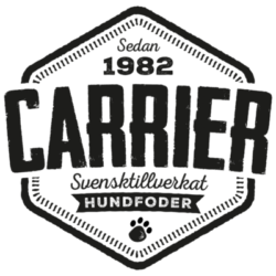 Carrier Hundfoder Logotyp